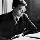 Download or print Symphony No. 5 Sheet Music Notes by Dmitri Shostakovich for Piano