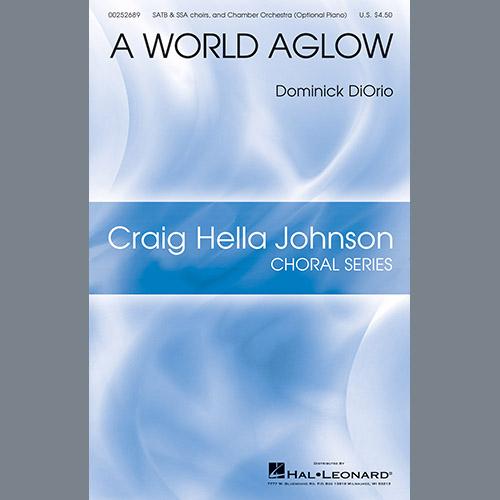 Dominick DiOrio A World Aglow - Bb Clarinet 1 profile picture