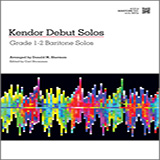 Download Donald M. Sherman Kendor Debut Solos - Baritone T.C. Sheet Music arranged for Brass Solo - printable PDF music score including 14 page(s)