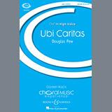 Download Douglas Pew Ubi Caritas Sheet Music arranged for SSA Choir - printable PDF music score including 9 page(s)