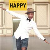 Download or print Happy Sheet Music Notes by Pharrell Williams for Piano
