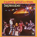 Download Earth, Wind & Fire September Sheet Music arranged for Piano, Vocal & Guitar - printable PDF music score including 4 page(s)