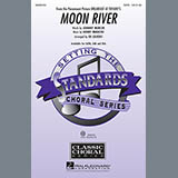 Download Henry Mancini Moon River (arr. Ed Lojeski) Sheet Music arranged for SAB - printable PDF music score including 9 page(s)