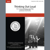 Download or print Thinking Out Loud (arr. Kirby Shaw) Sheet Music Notes by Ed Sheeran for SSAA Choir