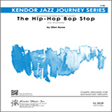 Download or print The Hip-Hop Bop Stop - Bass Sheet Music Notes by Ellen Rowe for Jazz Ensemble