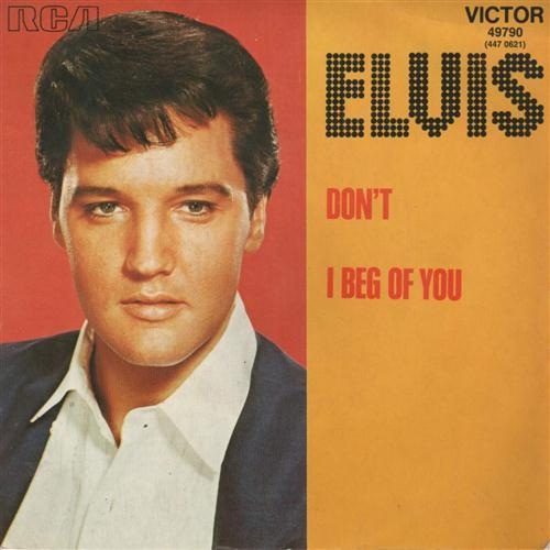 Elvis Presley Don't pictures