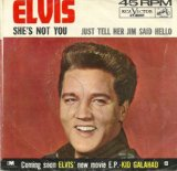 Download or print She's Not You Sheet Music Notes by Elvis Presley for Piano