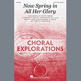 Download Emily Crocker Now Spring In All Her Glory Sheet Music arranged for 3-Part Treble Choir - printable PDF music score including 15 page(s)