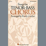 Download Emily Crocker Songs For Tenor-Bass Chorus (Collection) Sheet Music arranged for TTB Choir - printable PDF music score including 38 page(s)