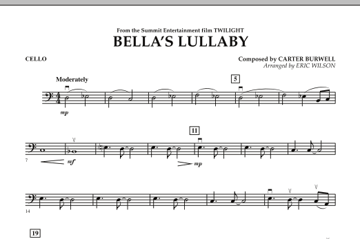 Eric Wilson Bella's Lullaby (from