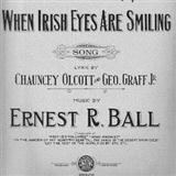 Download or print When Irish Eyes Are Smiling Sheet Music Notes by Ernest R. Ball for Piano