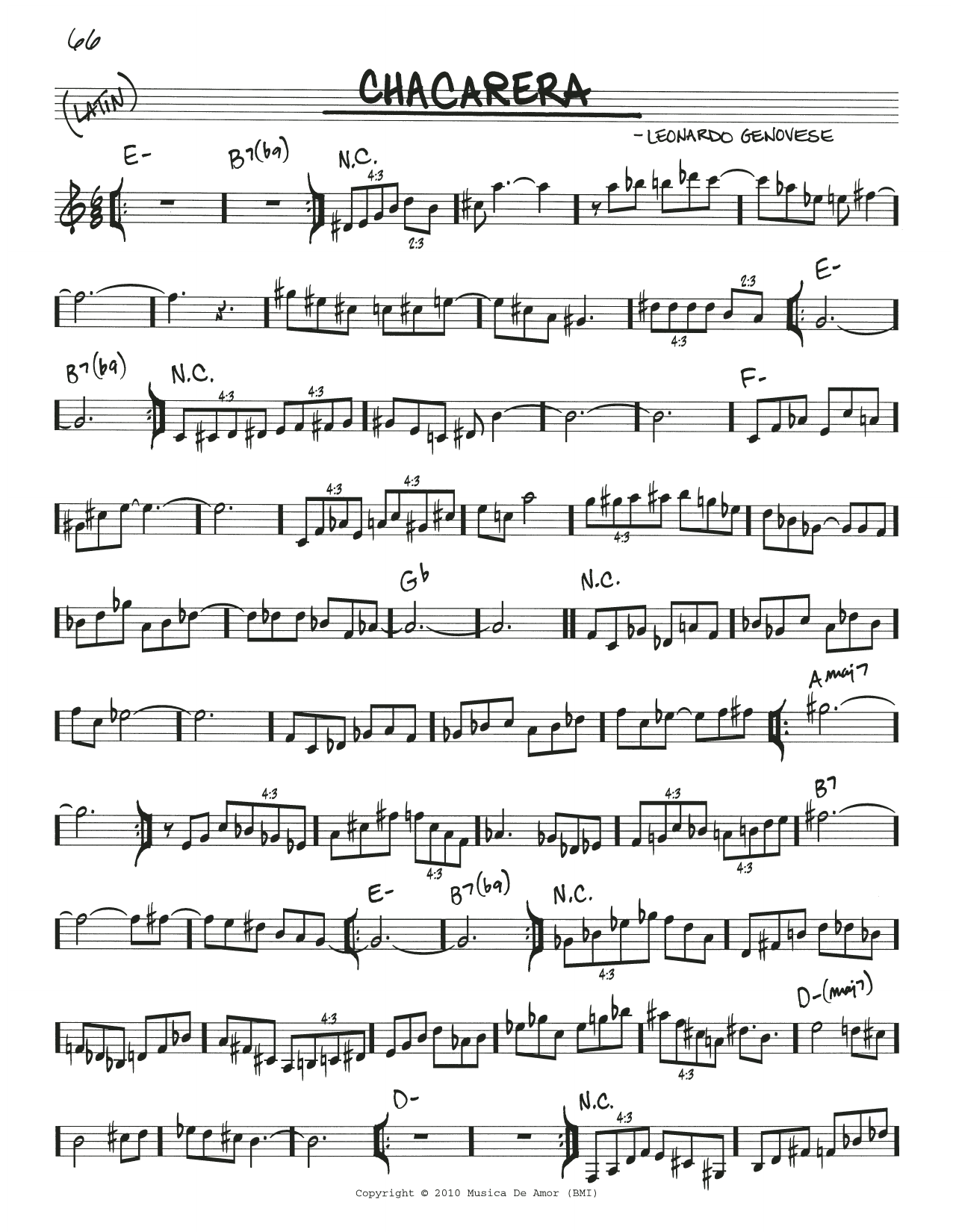 Esperanza Spalding Chacarera sheet music notes and chords