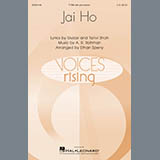 Download A. R. Rahman Jai Ho (arr. E Sperry) Sheet Music arranged for TTBB - printable PDF music score including 14 page(s)