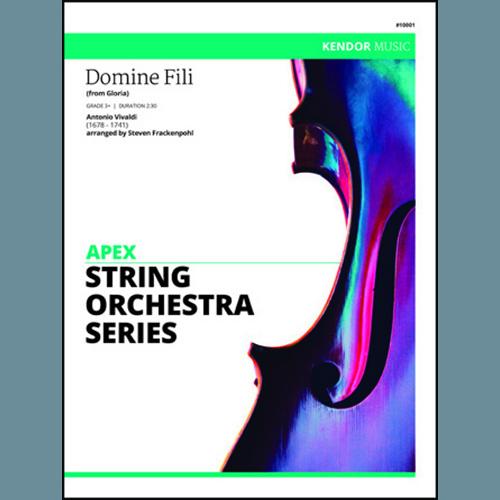 Frackenpohl Domine Fili (from Gloria) - Full Score pictures