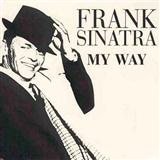 Download or print My Way Sheet Music Notes by Frank Sinatra for Piano