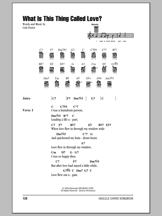 Download Frank Sinatra 'What Is This Thing Called Love?' Digital Sheet Music Notes & Chords and start playing in minutes