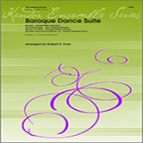 Download Frost Baroque Dance Suite Sheet Music arranged for Wind Ensemble - printable PDF music score including 5 page(s)