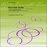 Download Frost Bourree Suite Sheet Music arranged for Wind Ensemble - printable PDF music score including 4 page(s)