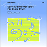 Download Funnell Easy Rudimental Solos For Snare Drum Sheet Music arranged for Percussion Solo - printable PDF music score including 2 page(s)