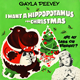 Download or print I Want A Hippopotamus For Christmas (Hippo The Hero) Sheet Music Notes by Gayla Peevey for Violin Solo