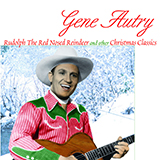Download Gene Autry Here Comes Santa Claus (Right Down Santa Claus Lane) Sheet Music arranged for Easy Piano (Big Notes) - printable PDF music score including 2 page(s)
