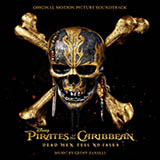 Download or print Kill The Filthy Pirate, I'll Wait Sheet Music Notes by Geoff Zanelli for Piano