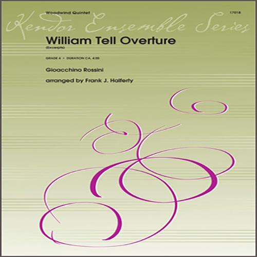 Gioacchino Rossini William Tell Overture (excerpts) (arr. Frank J. Halferty) - Full Score profile picture