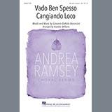 Download Giovanni Battista Bononcini Vado Ben Spesso Cangiando Loco (arr. Brandon Williams) Sheet Music arranged for TB Choir - printable PDF music score including 6 page(s)