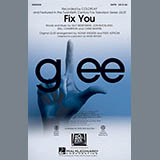 Download or print Fix You Sheet Music Notes by Glee Cast for Piano