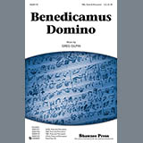 Download Greg Gilpin Benedicamus Domino Sheet Music arranged for Choral TBB - printable PDF music score including 14 page(s)