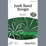 Download Greg Gilpin Junk Band Boogie Sheet Music arranged for 3-Part Mixed Choir - printable PDF music score including 15 page(s)