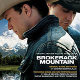 Download Gustavo Santoalalla Theme from Brokeback Mountain Sheet Music arranged for Melody Line - printable PDF music score including 2 page(s)
