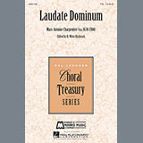 Download or print Laudate Dominum Sheet Music Notes by Marc-Antoine Charpentier for Choral TTB