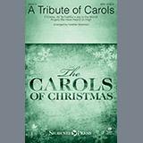 Download Heather Sorenson A Tribute of Carols - Bass Clarinet (sub. Bassoon) Sheet Music arranged for Choir Instrumental Pak - printable PDF music score including 3 page(s)