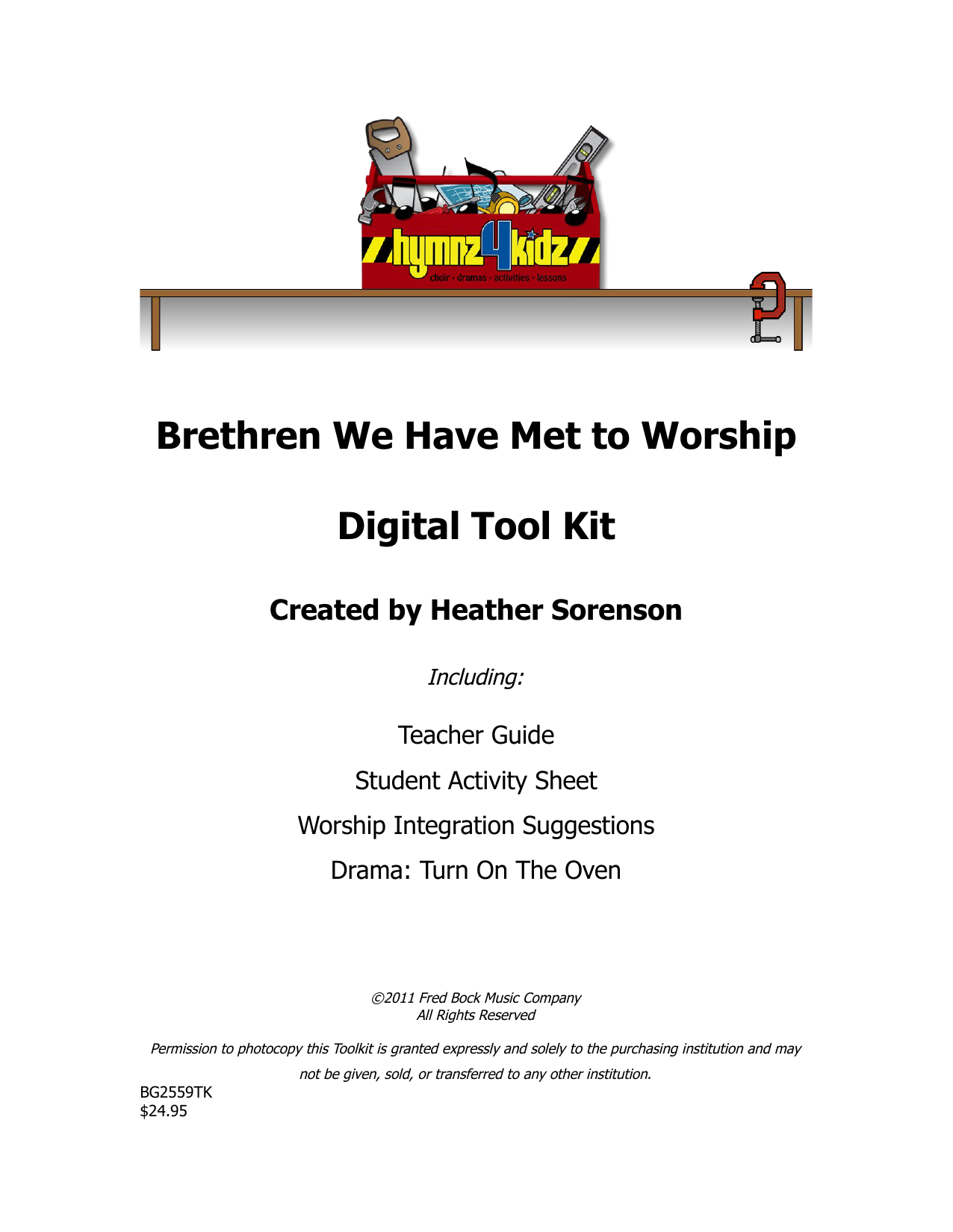 Download Heather Sorenson 'Brethren We Have Met To Worship' Digital Sheet Music Notes & Chords and start playing in minutes