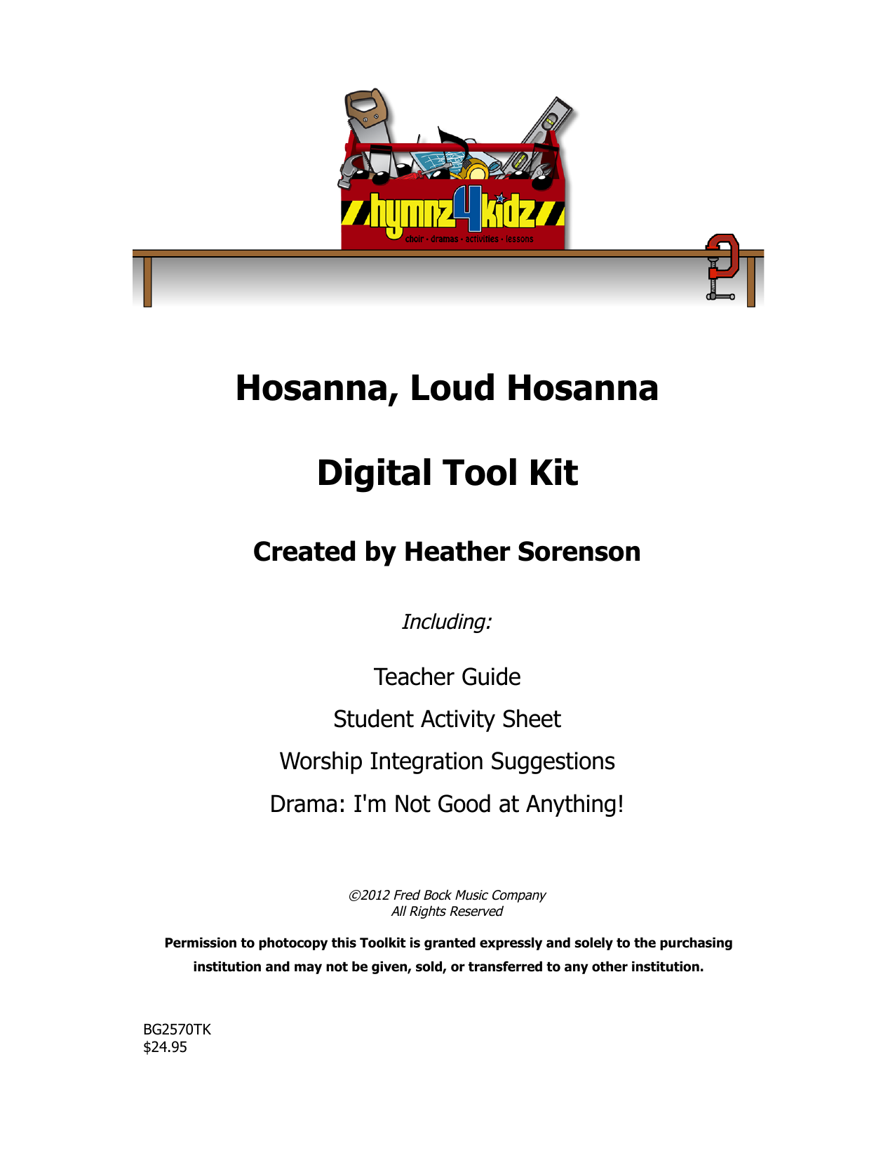 Download Heather Sorenson 'Hosanna, Loud Hosanna' Digital Sheet Music Notes & Chords and start playing in minutes
