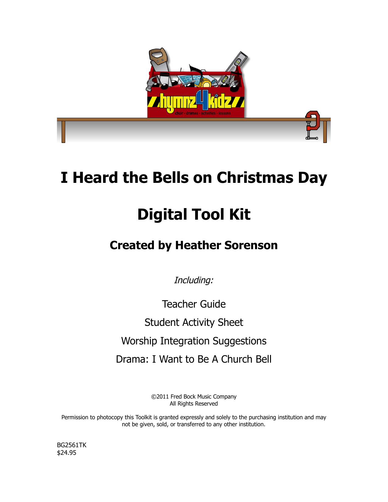 Download Heather Sorenson 'I Heard The Bells On Christmas Day' Digital Sheet Music Notes & Chords and start playing in minutes