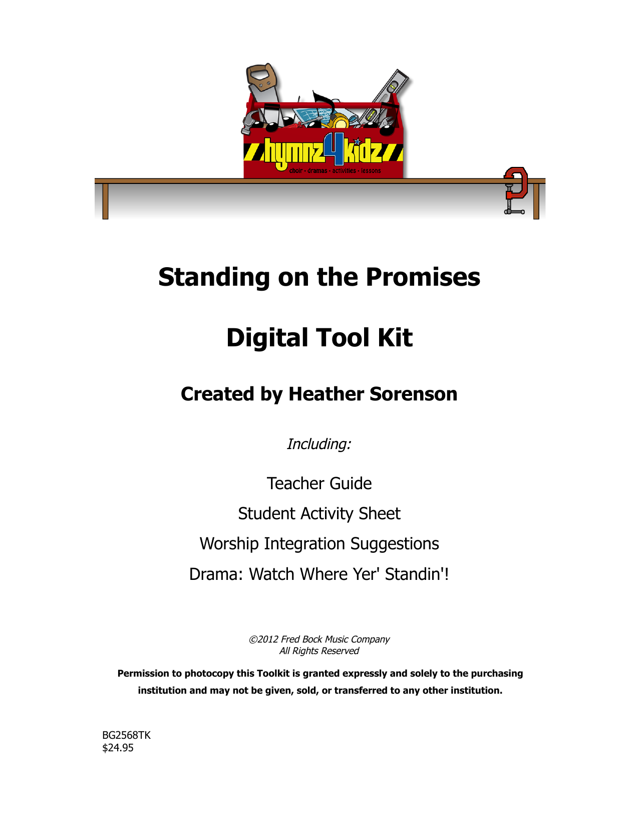 Download Heather Sorenson 'Standing On The Promises' Digital Sheet Music Notes & Chords and start playing in minutes