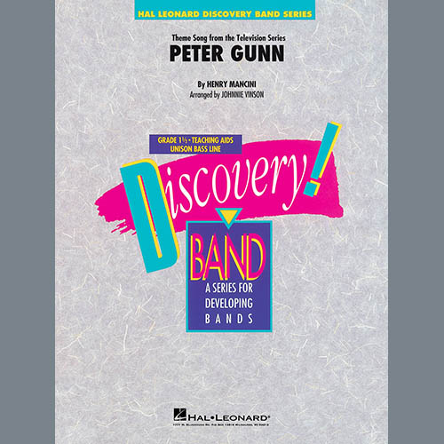 Henry Mancini Peter Gunn (arr. Johnnie Vinson) - Eb Alto Saxophone 1 profile picture