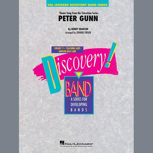 Henry Mancini Peter Gunn (arr. Johnnie Vinson) - Eb Baritone Saxophone profile picture