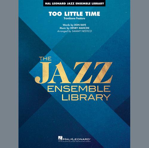 Henry Mancini Too Little Time (arr. Sammy Nestico) - Conductor Score (Full Score) - Trombone 3 profile picture