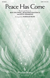 Download Hillsong United Peace Has Come (arr. Harold Ross) Sheet Music arranged for SATB - printable PDF music score including 11 page(s)