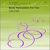 Download Houllif Body Percussion For Two Sheet Music arranged for Percussion Ensemble - printable PDF music score including 21 page(s)