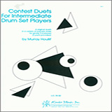 Download Houllif Contest Duets For Intermediate Drum Set Players Sheet Music arranged for Percussion Ensemble - printable PDF music score including 8 page(s)