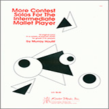 Download Houllif More Contest Solos For The Intermediate Mallet Player Sheet Music arranged for Percussion Solo - printable PDF music score including 11 page(s)