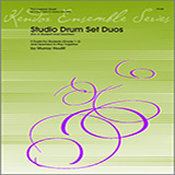 Download Houllif Studio Drum Set Duos (For A Student And Teacher) Sheet Music arranged for Percussion Ensemble - printable PDF music score including 18 page(s)