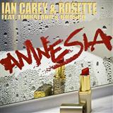 Download Ian Carey & Rosette Amnesia (feat. Timbaland and Brasco) Sheet Music arranged for Piano, Vocal & Guitar (Right-Hand Melody) - printable PDF music score including 6 page(s)