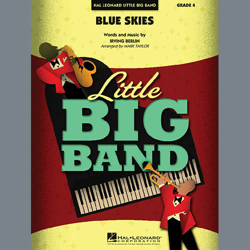 Irving Berlin Blue Skies - Bass Clef Solo Sheet pictures