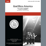 Download or print God Bless America (arr. Greg Lyne) Sheet Music Notes by Irving Berlin for SSAA Choir