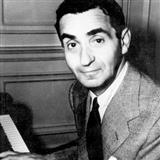 Download or print I Love A Piano Sheet Music Notes by Irving Berlin for Piano